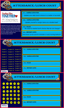 Daily Attendance and Lunch Count Tool