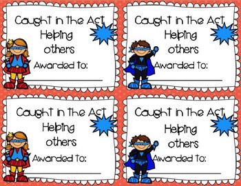 "Daily Awards and Incentives: ""Caught in the Act"""