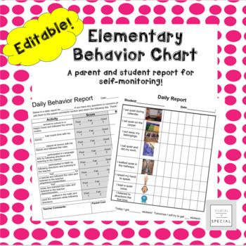 Daily Behavior Chart