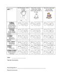 Daily Behavior Chart (Editable)