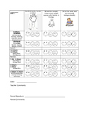 Daily Behavior Chart (Editable)