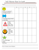 Classroom Management - Behavior Chart for Daily Parent Communication