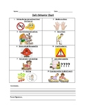 Daily Behavior Chart - (with pictures) EDITABLE!