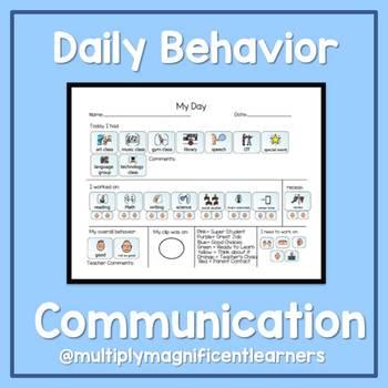 Daily Behavior Communication