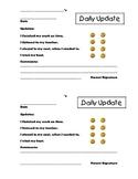Daily Behavior Forms