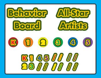 Crayon Box Chart Behavior Management Reward For Behavior and Incentives