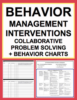 Classroom Management & Behavior Solution BUNDLE