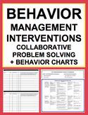 Classroom Management & Behavior Chart