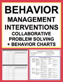 Classroom Management & Behavior Chart