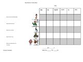 Daily Behavior Point Sticker Sheet Autism Boardmaker Special Education Goals