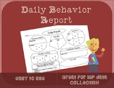 Daily Behavior Data