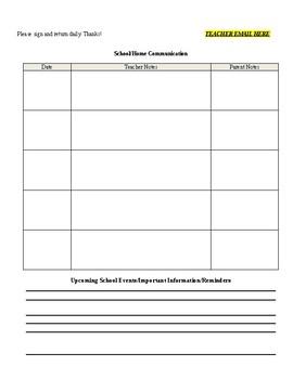 Daily Behavior Sheet and Tally Sheet for Data