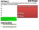 Daily Bell Ringer Template