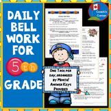 Morning Bell Ringers for 5th Grade