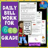 Bell Ringers for 6th Grade