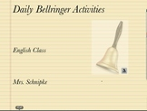 Daily Bellringer Activities Week 1