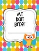 Daily Binder for Students- Colorful Polka Dot and Owl Edit