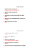 10 Short Biology Must Know Quizzes w/ Answers