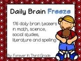Brain Teasers - Full Year