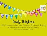 Daily Brain Thinkers - Community Builders