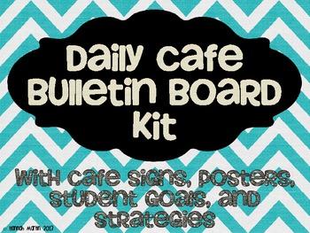 Daily CAFE Bulletin Board Kit {FREEBIE!}