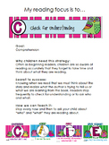 Daily CAFE - Parent Information for strategies