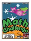 Math-1st Grade-Month 01: Challenge Problem Solving (Questi