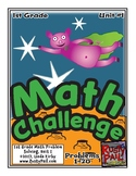 Math-1st Grade-Month 01: Challenge Problem Solving (Questi