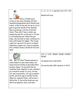 Math-4th Grade-Month 06: Challenge Problem Solving (Questions 101-120)