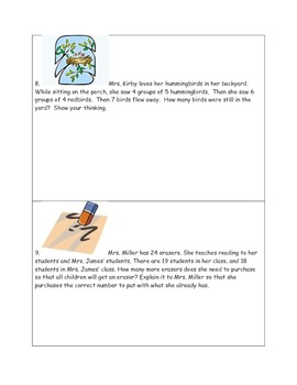 Math-3rd Grade-Month 01: Challenge Problem Solving (Questions 01-20)