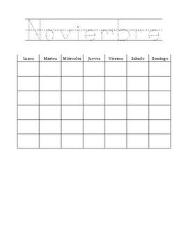 Spanish Daily Calendar updated