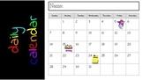 Daily Calendar (digital & interactive)