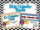 Daily Calendar Bundle