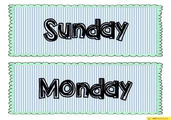 Daily Calendar Cards
