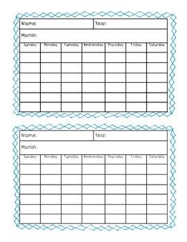 Daily Calendar - Daily Math Review