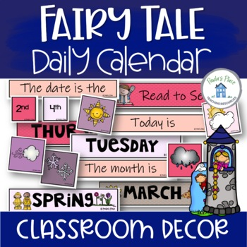 Daily Calendar - Fairy Tale Theme
