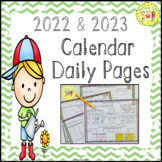 Daily Calendar Interactive Activities Worksheets Printables