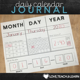 Calendar Dates - Daily Calendar Journal, Calendar Time, Da