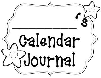 Daily Calendar Journals