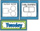 Daily Calendar Kit {Blue and Green}