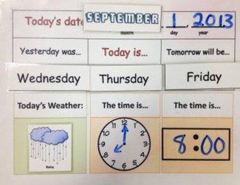 Daily Calendar Mat