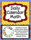 Daily Calendar Math