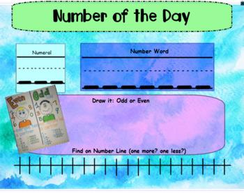 Calendar Math (SMART Board)