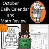 Daily Calendar & Math Review October 2020  TPT Digital Activities
