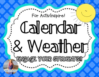 Daily Calendar Math & Weather [for ActivInspire!]