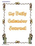 Daily Calendar Notebook