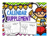 Daily Calendar Pages - Student Calendar Supplement