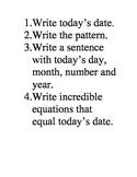 Daily Calendar Questions