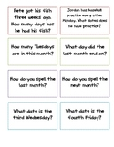 Daily Calendar Questions