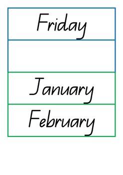 Daily Calendar Resource